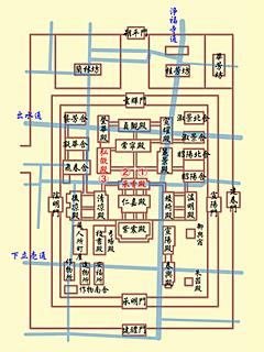 承香殿の歴史 古地図