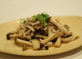「おだしドレッシング」と秋の食材「キノコ」を使った簡単レシピ