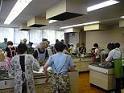 大山崎町で調理実習、えごま味噌の作り方