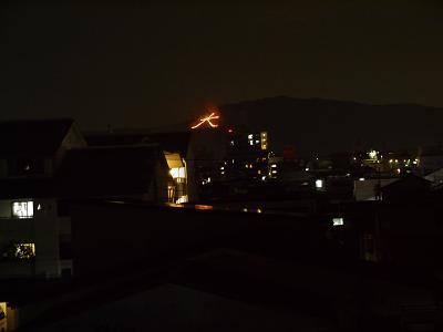 山中油店のお盆(その5)〜五山の送り火